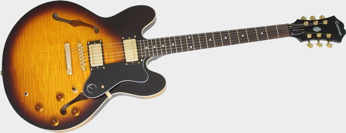 epiphone dot review