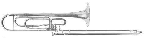 Thein contrabass trombone with standard slide