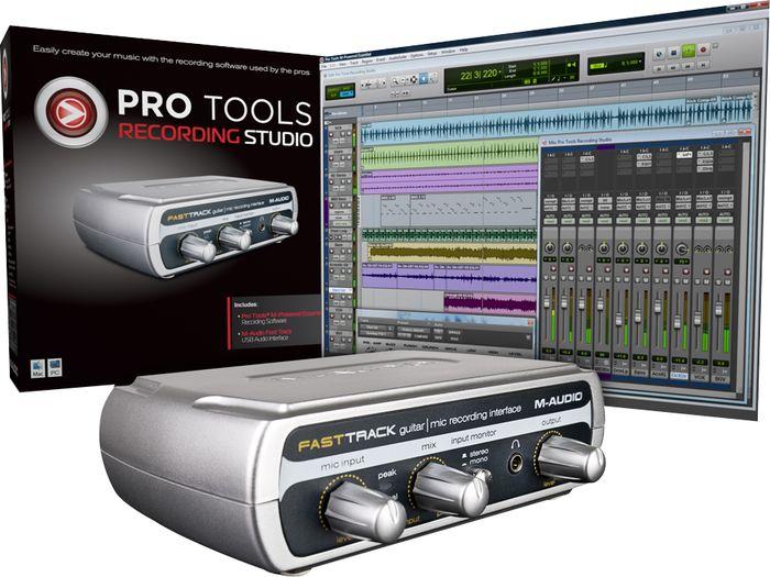 драйвер m-audio fast track windows 7